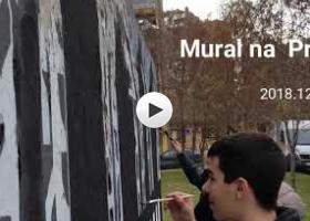 Osveženje murala na Prozivki