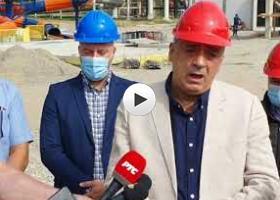 Stevan Bakić o radovima na SPA centru Palić