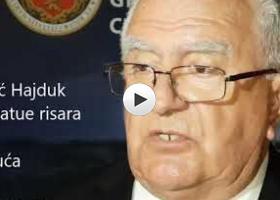 Lazo Vojnić Hajduk povodom priznanja od strane UBH Dužijanca