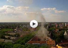 Početak i kraj požara na hotelu Gloria Subotica