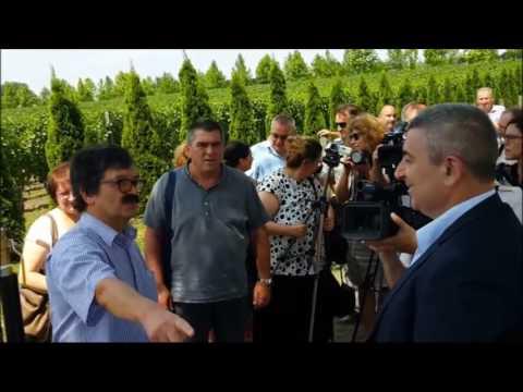 Bogdan Laban simbolično paljenje gasa