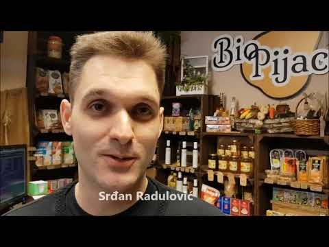Srđan Radulović o uslugama prodavnice BioPijaca