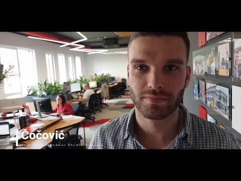 Vladimir Čočović Otvoreni dan u Studio Presentu