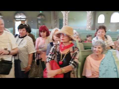 Bunford Tivadar pozdravlja posetioce sinagoge