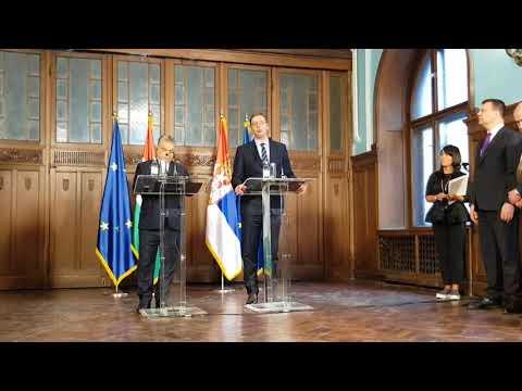 Izjava za medije A.Vučića
