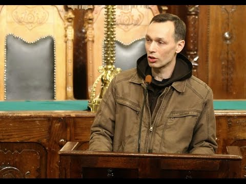 Zvonko Gruber govor na tribini Blaženi mirotvorci
