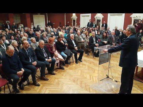 Pozdravni govor Jene Maglaija za Sašu Jankovića