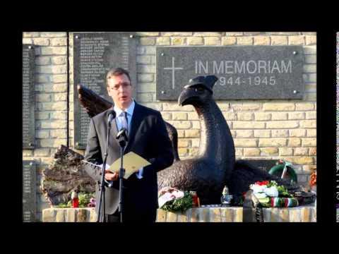 Aleksandar Vučić Govor na komemoraciji Ptica slomljenih krila