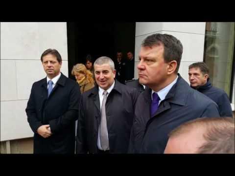 Igor Mirović u obilasku radova na Narodnom pozorištu u Subotici