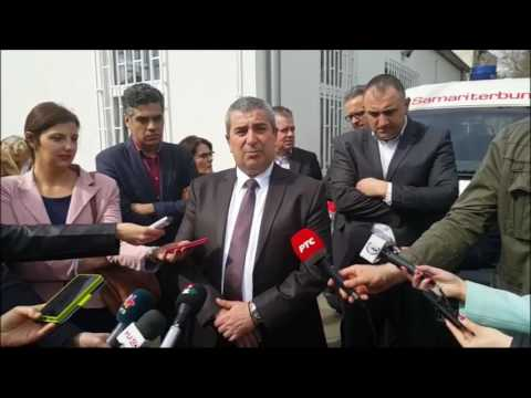 Bogdan Laban povodom završetka radova na Ambulanti 1