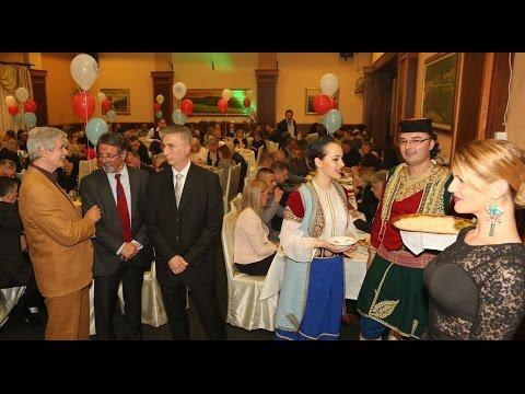 Govornici na I crnogorskoj večeri u Subotici
