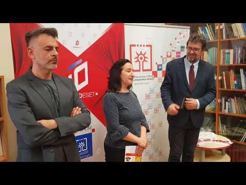 Otvaranje izložbe X godina Zavoda za kulturu vojvođanskih Hrvata