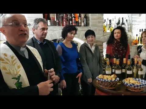 Osvećenje mladog vina u restoranu Plava riba