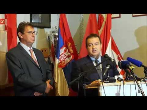 Ivica Dačić i Miro Kovač govori i odgovori u domu DSHV