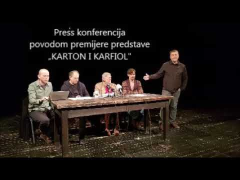 Ilustrovani zapis press konf.
