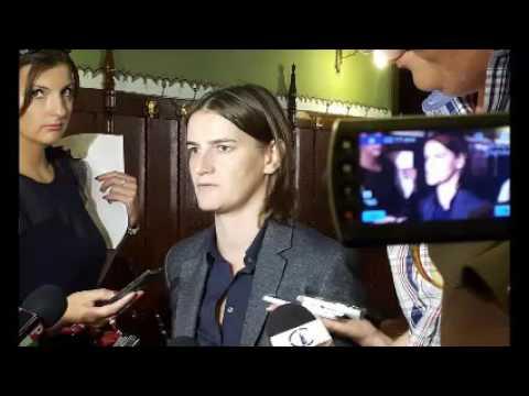 Ana Brnabić izjava za medije