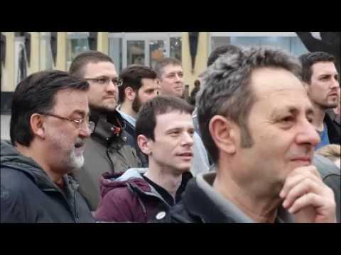 Govornici na skupu podrške Saši Jankoviću
