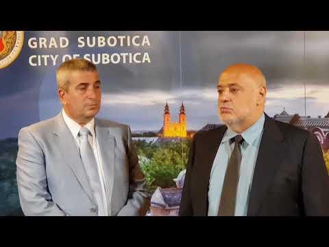 Bogdan Laban i Rade Doroslovački o poslovno tehničkoj saradnji
