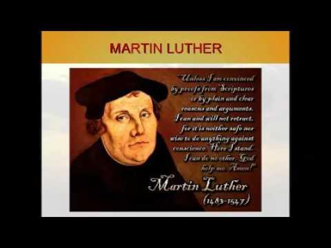 Referati na jubileju 500 godina od reformacije
