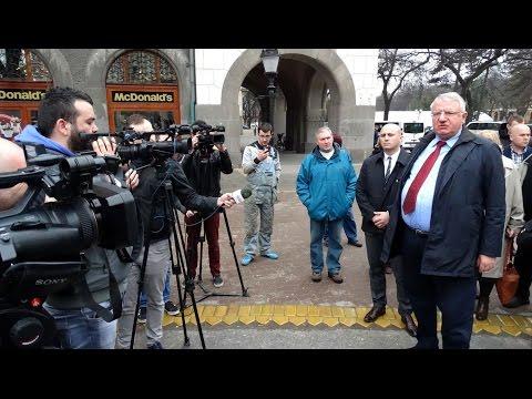 Vojislav Šešelj Izjava za medije u Subotici